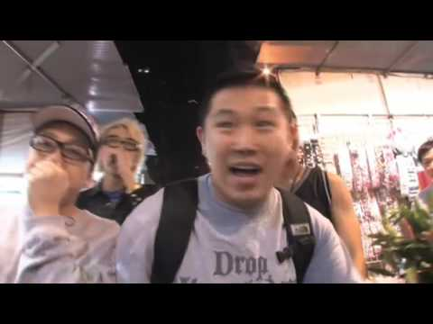 Freestyling with MC JIN at Hong Kongs night market !