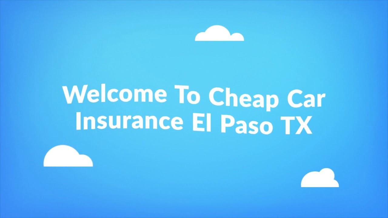 Get Now Cheap Auto Insurance in El Paso TX