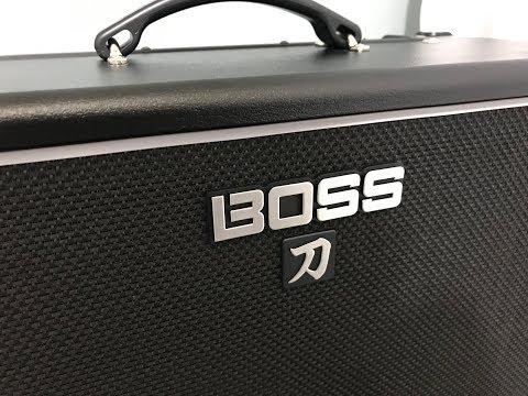Boss Katana 100 1x12 (single Clean) Stratocaster.