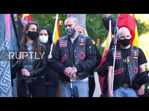 """Fiesta neonazi en Madrid: """"El judío es el culpable, el enemigo siempre va a ser el mismo"""""""