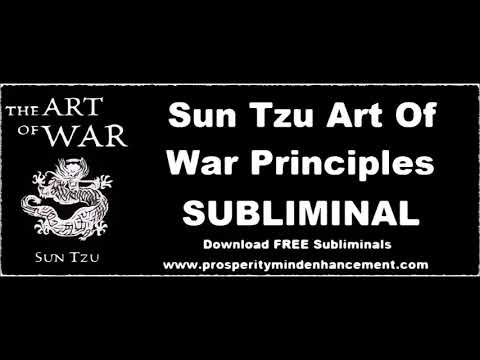 Sun Tzu Art Of War Subliminal - 432Hz Affirmations & Rain Sounds
