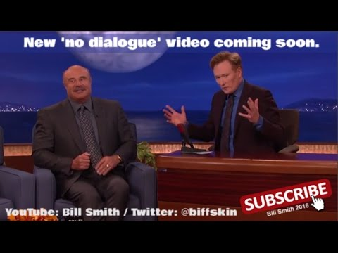 Conan O'Brien shows Dr Phil the No Dialogue video on CONAN.