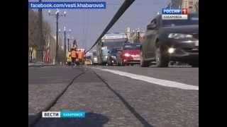Вести-Хабаровск. Обрыв троллейбусной контактной линии