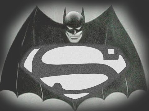 Batman V Superman: Dawn of Justice (1940s Style)