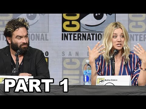 The Big Bang Theory Comic Con Panel 2017 PART 1