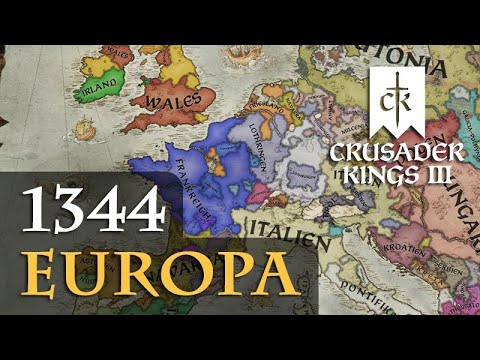 Let's Play Crusader Kings 3: Europa 1344 (Special) |
