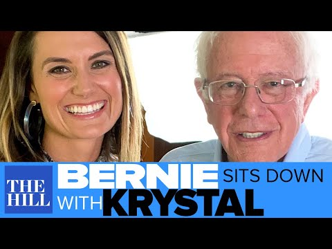 Full Extended Interview: Bernie Sanders sits down with Krystal Ball
