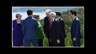 """Die G7-Analyse von BILD - So gefährlich wird der """"Trump-Gipfel"""" für Merkel"""