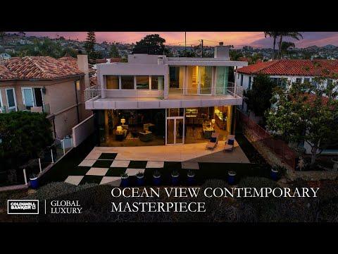 Ocean View Contemporary Masterpiece