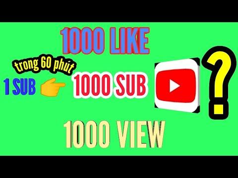 Cách tăng sub youtube nhanh nhất 2020