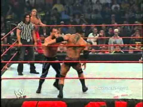 Raw March 29 2004   HBK and Chris Benoit vs Evolution   p1