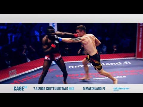 CAGE 48 MMA 7.9.2019 HELSINKI