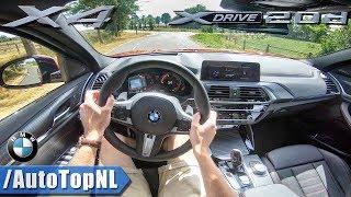 2019 BMW X4 M Sport xDrive POV Test Drive by AutoTopNL