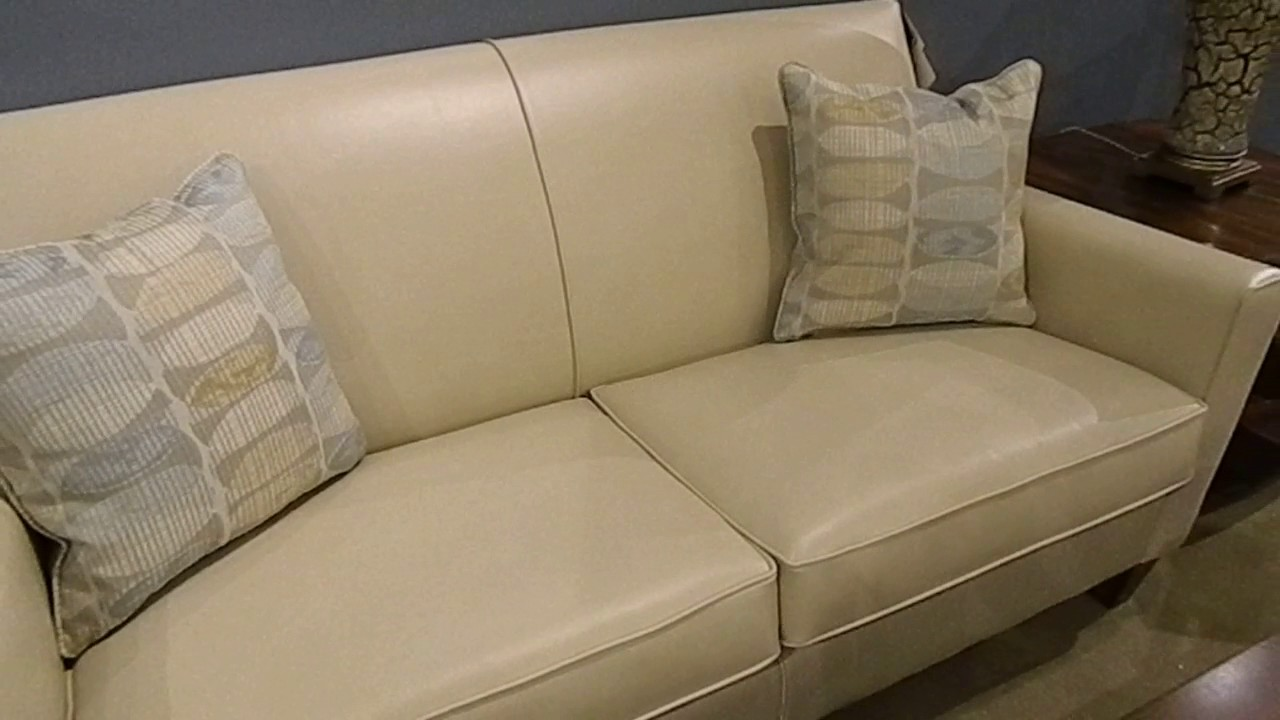 Durable Leather Style Fabric Sofa By
