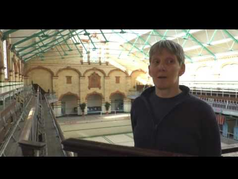 The Victoria Baths open for public swimming after more than 24 years