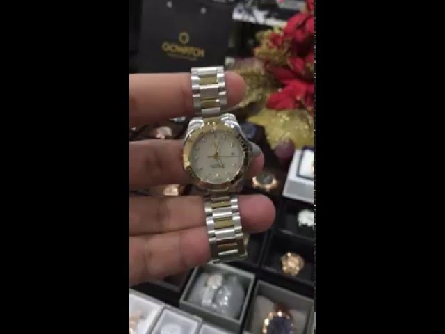 1aa39e9a012b6 (VIDEO Review) Tag Heuer Women s WAY1353.BD0917 300 Aquaracer Diamond-Accented  Two-Tone Watch