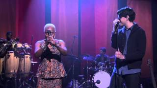 "Angelique Kidjo ""I Think Ur a Contra"" - featuring Ezra Keonig"