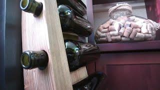 РОЗЫГРЫШ ДЛЯ ПОДПИСЧИКОВ! Полка для хранения вина, домашний мини бар в подарок, условия в описании!