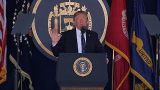 Trump Addresses US Naval Academy Graduation thumbnail