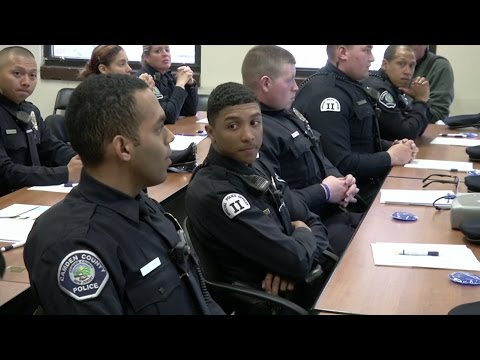 Camden County Police Learn About Autism
