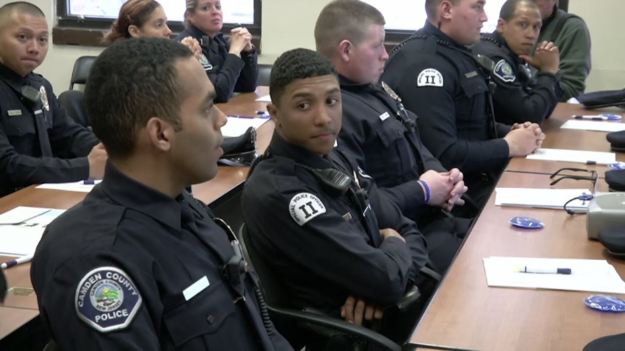Camden County Police Learn About Autism Youtube