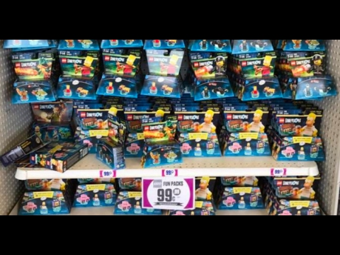 99 Cent Only Store Lego Dimension Haul, February 6th - YouTube