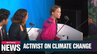 Teen Climate Activist Greta Thunberg Slams World Leaders At Un Climate Action Summit For