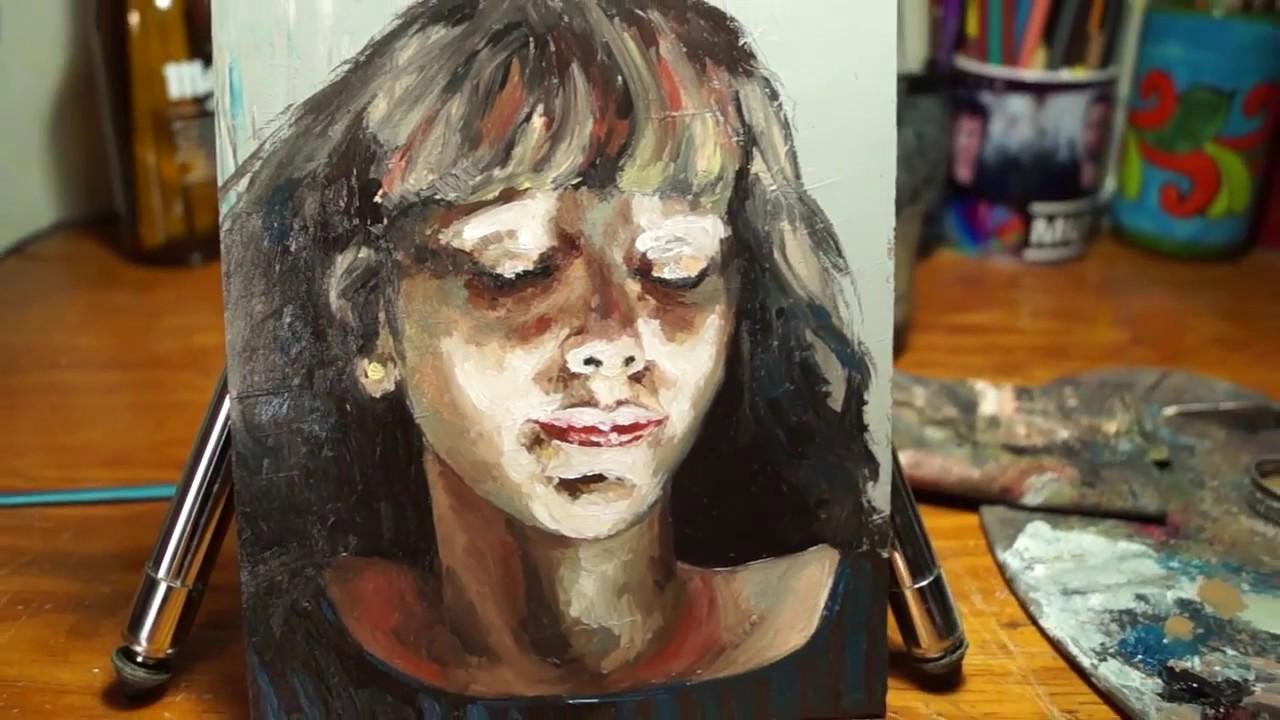 Aprende A Pintar Un Retrato Al Oleo Youtube