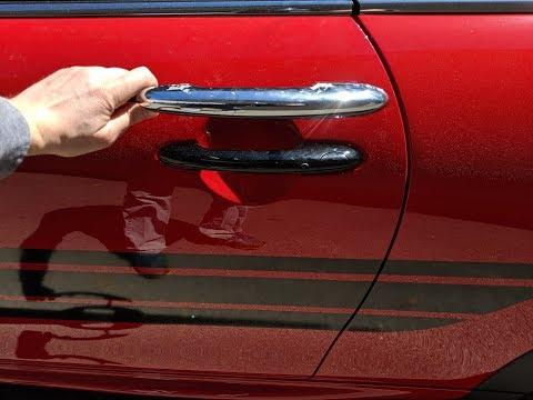 MINI Cooper Swap Out Chrome Door Handle