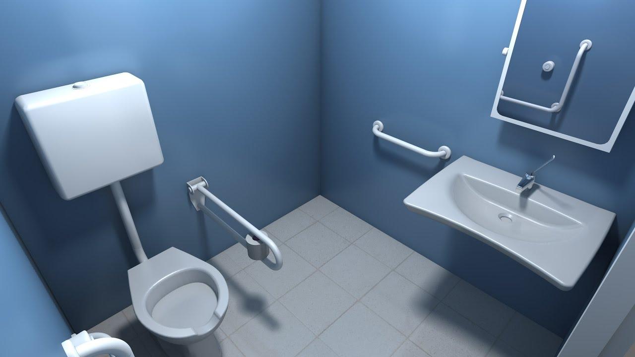 Come realizzare un bagno per disabili a norma  YouTube