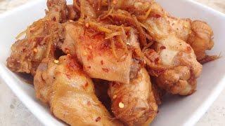 Vietnamese Braised Chicken With Ginger - Ga Kho Gung