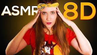 ASMR 8D. Masaje cerebral para dormir | ASMR Español | Asmr with Sasha thumbnail