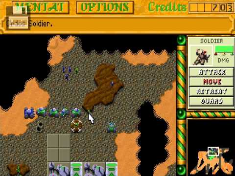 [PC]Dune 2: The building of a Dynasty   House Ordos 2