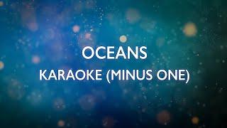 Oceans (Where Feet May Fail) - Hillsong United   Karaoke Minus One (Good Quality)
