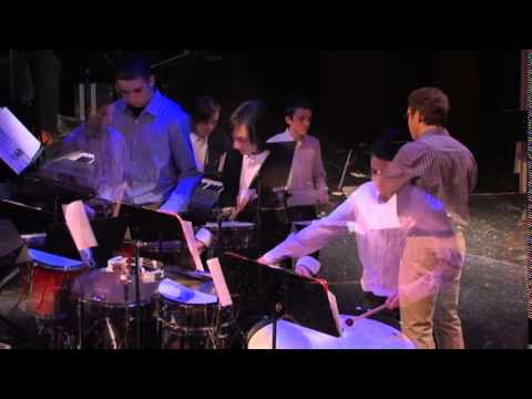 Calhoun School (NYC) Percussion Ensemble, Dec. 2014