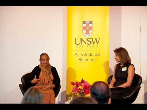 Ela Gandhi in conversation with Associate Professor Laura Shepherd