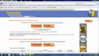 4-How to upload files from kompozer to your web site