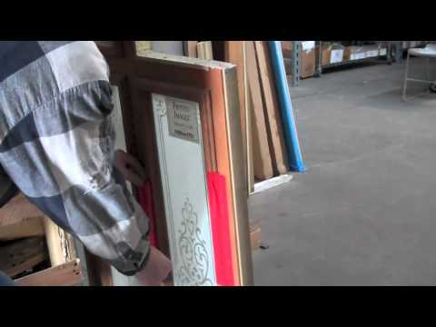 How to Remove Thermatru Door Lite and Sidelite Surrounds for Replacement