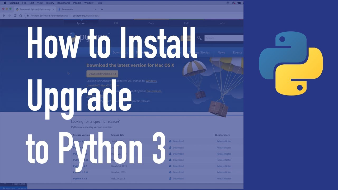 How to Install/Upgrade to Python 3 on a Mac