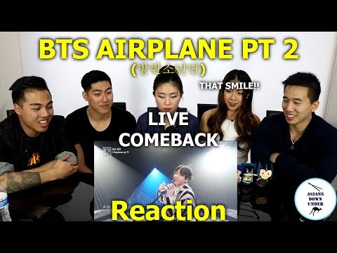 Asians Watch BTS (방탄소년단) - Airplane Part.2 live comeback show | Reaction - Australian Asians