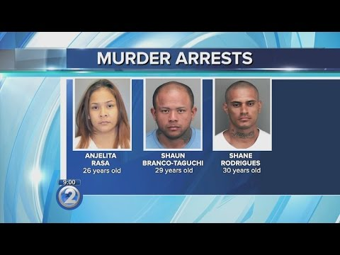 3 charged in Whitmore Village murder, car torching investigation