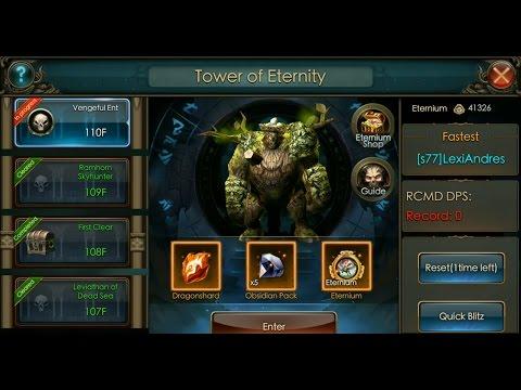 Legacy of Discord : Furious Wings - Tower of Eternity floor 110 !