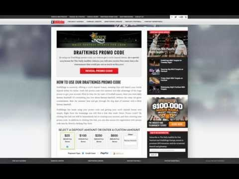 Top DraftKings Promo Code with Free Entry