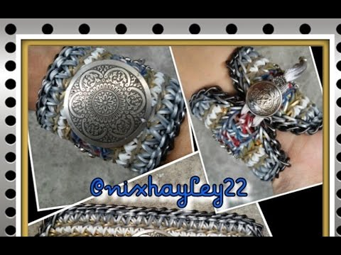 Rainbow Loom Band Lancelot Bracelet Tutorial/How To