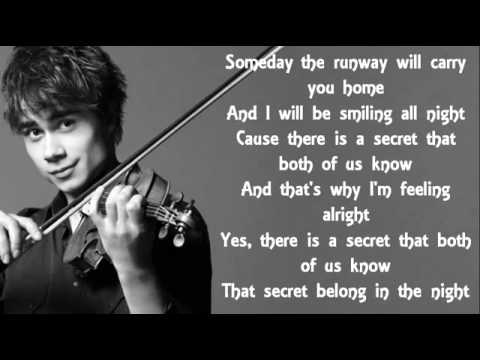Alexander Rybak- First Kiss:歌詞+翻譯