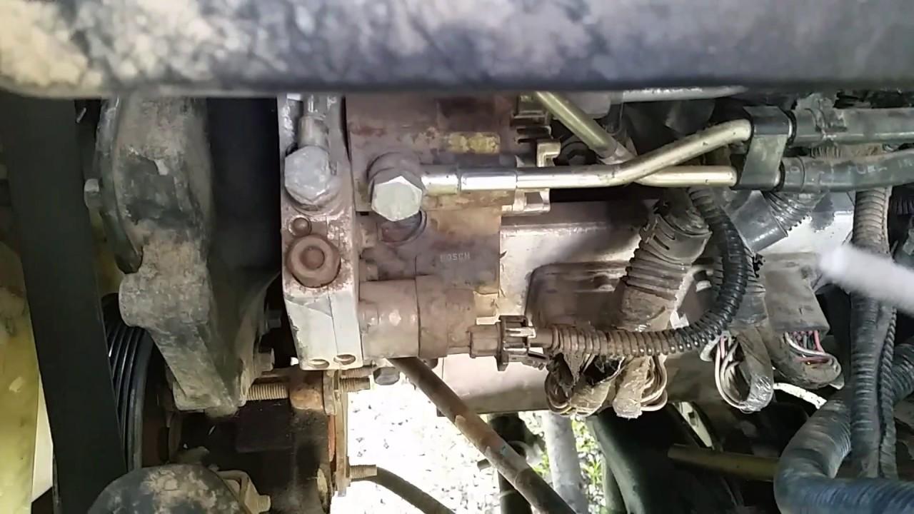 03 Dodge Cummins Common Fuel Leak  YouTube