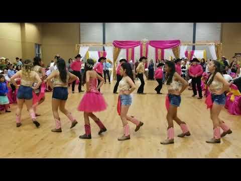 Baile Sorpresa 15 años Leslie Lopez Mix Tao Tao Palillos Chinos Cuando los Frijoles Bailan Nene Malo