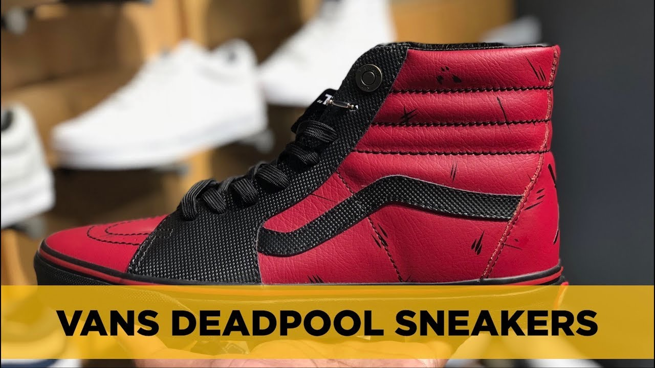VANS x MARVEL DEADPOOL REVIEW: Sneakers that Reek of Awesomeness.