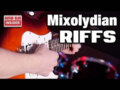 How to Write Guitar Riffs in Mixolydian (Quick & Easy)