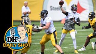 DK's Daily Shot of Steelers: So, how's Dwayne Haskins looking?